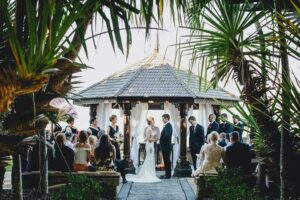 wedding ceremony - Villa Botanica: Unique Wedding Venues Australia