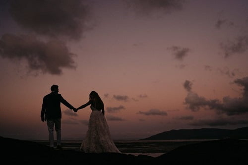 elopement at Villa Botanica Whitsunday Wedding Venue at Queensland